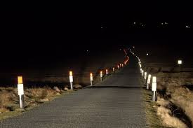 Dark Road at Night